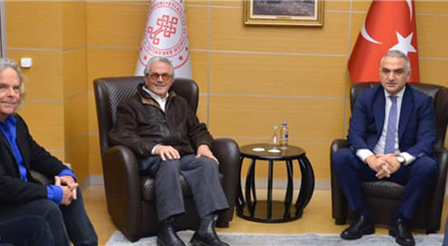 Minister of Culture and Tourism Ersoy Welcomes George Miller